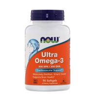 NOW 诺奥 omega-3 欧米伽3 深海鱼油软胶囊 90粒 维护大脑健康