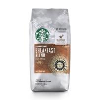 Starbucks 星巴克 非速溶烘焙黑咖啡粉 早餐混合型黑咖啡粉(中度烘焙)