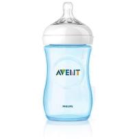 Philips飞利浦 AVENT新安怡 自然实感宽口PP奶瓶 蓝色 260ml   套装拆单