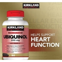 Kirkland Ubiquinol Coq10 还原型 辅酶Q10 200mg 90粒