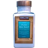 Kirkland 可兰 纯海盐  850g  精细颗粒