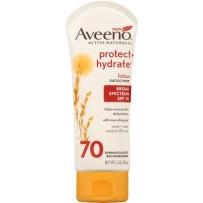 Aveeno 纯天然燕麦强效保湿无油防晒乳 SPF70  85g