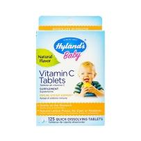 Hyland's天然速溶维生素C 婴儿童宝宝成人维C咀嚼片VC
