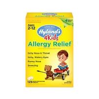 Hyland's天然顺势幼儿童感/冒小片 流鼻涕咳嗽喉咙疼125片 2~12岁感冒