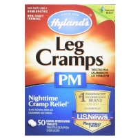 Hyland's夜间腿部麻痹抽筋缓解片 50片 Leg Cramps PM