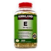 Kirkland 可兰 维生素E软胶囊 400 IU, 500粒