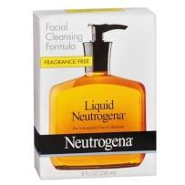 Neutrogena 露得清 无香液体洁面凝露 236ml 洗面奶啫喱深层清洁温和保湿