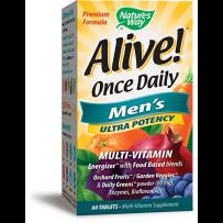 Nature's Way Alive男性多种复合维生素矿物质营养60片