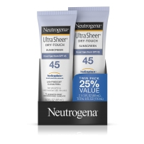 Neutrogena 露得清超级干爽无油清爽防晒乳SPF45 2支