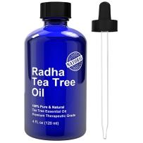 Radha Beauty纯天然有机罗勒茶树精油祛痘多功能120ml
