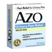 AZO Standard Urinary缓解尿痛尿急灼烧感维生素类30片装