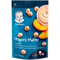 嘉宝  酸奶小溶豆  水蜜桃味 2袋装 (28g*2)