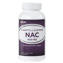 GNC健安喜 NAC乙酰半胱氨酸600mg 60粒 美白祛斑解酒护肝