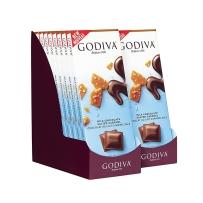 GODIVA 歌蒂梵海盐焦糖黑巧克力直板排块 90g*2块装