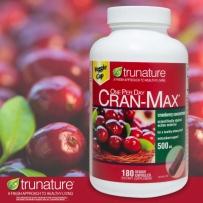Trunature 蔓越莓精华软胶囊 500mg 180粒  保护女性卵巢健康