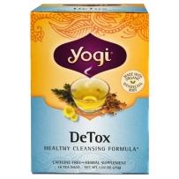 美国Yogi tea detox瑜伽茶排毒茶 促进肝肾健康 16茶包