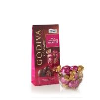 GODIVA 歌蒂梵 丝滑牛奶松露巧克力宝石块 19粒198g