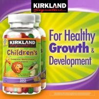 Kirkland 可兰 儿童复合维生素软糖 160粒