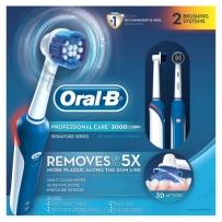 Oral-B 欧乐 3D震动清洁电动牙刷 2支装