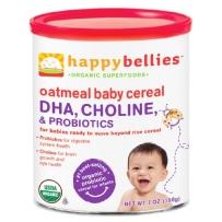 Happy Bellies 禧贝 2段 有机燕麦米粉 DHA+益生菌 198g
