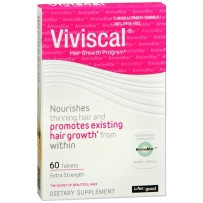 Viviscal 天然生发养发营养片 Extra Strength加强型 60片
