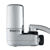 Brita 碧然德 家用水龙头净水器  银色