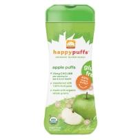Happy Puffs 禧贝 有机全麦星星泡芙 两盒装 苹果味