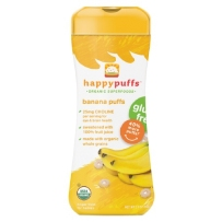 Happy Puffs 禧贝 有机全麦星星泡芙 两盒装 香蕉味
