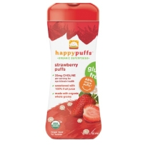 Happy Puffs 禧贝 有机全麦星星泡芙 两盒装 草莓味