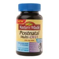 Nature Made产后混合维生素+DHA(200mg)软胶囊 60粒