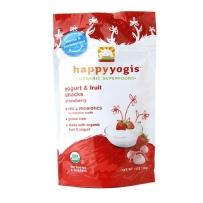 Happy Yogis 禧贝 有机草莓味酸奶小溶豆 2袋装