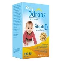 Baby Ddrops婴儿维生素D滴剂  90滴