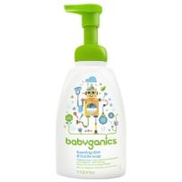 BabyGanics 甘尼克 泡沫奶瓶餐具清洁剂 无香型 473ml