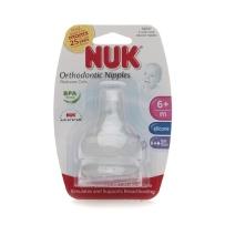 NUK   宽口径奶嘴 6个月以上  2只装