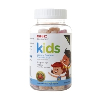 GNC  儿童补钙健康软糖 120粒  什锦水果味