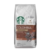 Starbucks 星巴克 非速溶烘焙黑咖啡粉 哥伦比亚黑咖啡粉(中度烘焙)