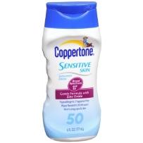 Coppertone 水宝宝 敏感肌肤防晒乳 SPF50 177ml 无香防水抗过敏