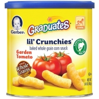 Gerber 嘉宝 番茄玉米泡芙条  两盒装