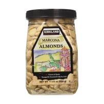 Kirkland 柯克兰海盐香烤西班牙秘鲁马科纳MARCONA杏仁500g