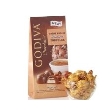 GODIVA 歌蒂梵 焦糖奶油布丁巧克力松露宝石块19粒198g