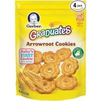 嘉宝 葛粉(竹竽)曲奇饼干 2袋装