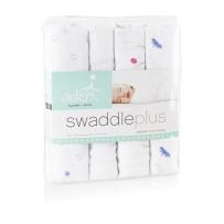 aden + anais 多功能婴儿大包巾 muslin纯纱棉 4条装 Meadow款
