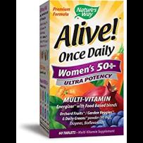 Nature's Way Alive! 50岁以上女性复合维生素 60片