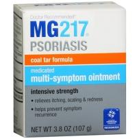 MG217牛皮癣 银屑病 脂溢性皮炎强效软膏 含2%煤焦油 107G