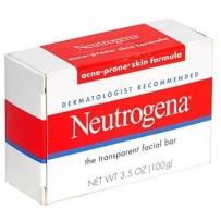 Neutrogena露得清 清滢暗疮消炎洁面皂 100g 控油祛痘