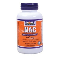 Now Foods N-乙酰半胱氨酸NAC 600mg 100粒 美白解酒改善呼吸功能