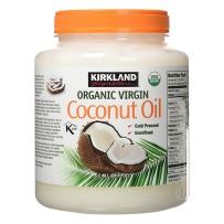kirkland/柯可兰冷压初榨椰子油食用按摩油护肤护发2480g
