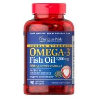 Puritan's Pride 普丽普莱 OMEGA-3 深海鱼油软胶囊 1200mg 90粒 保护心血管