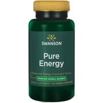 Swanson斯旺森 能量胶囊补充体力 60粒含茶氨酸红景天 熬夜