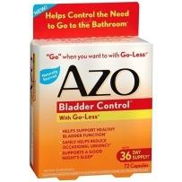 AZO 天然植物 膀胱控制72粒尿频尿急夜尿过多